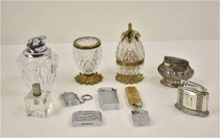 Table & Other Lighters Inc. French Cut Glass Set