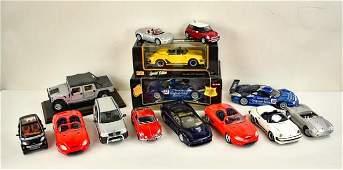14 Maisto Die-Cast Metal Model Cars