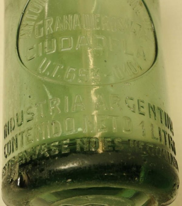 284: Two Vintage Soda/Seltzer Siphon Bottles 1.  French - 5