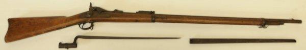 45B: 1873 Springfield Long Rifle with Bayonet