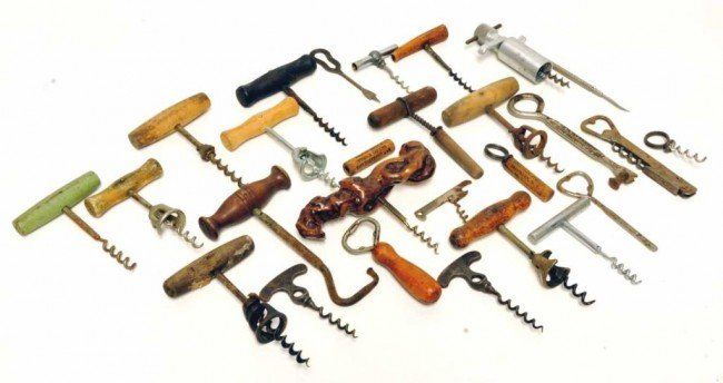 3: Collection of 20 Vintage Corkscrews + Other Items