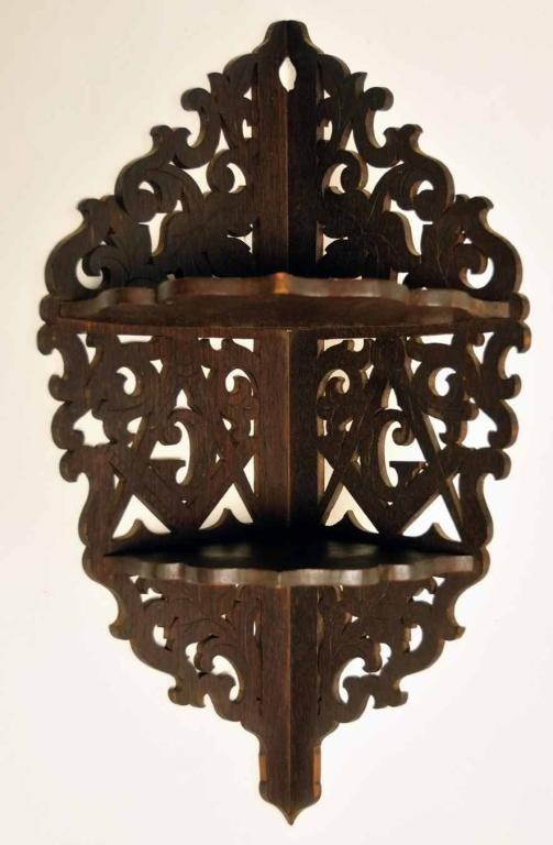 4: Masonic Hanging Corner Shelf