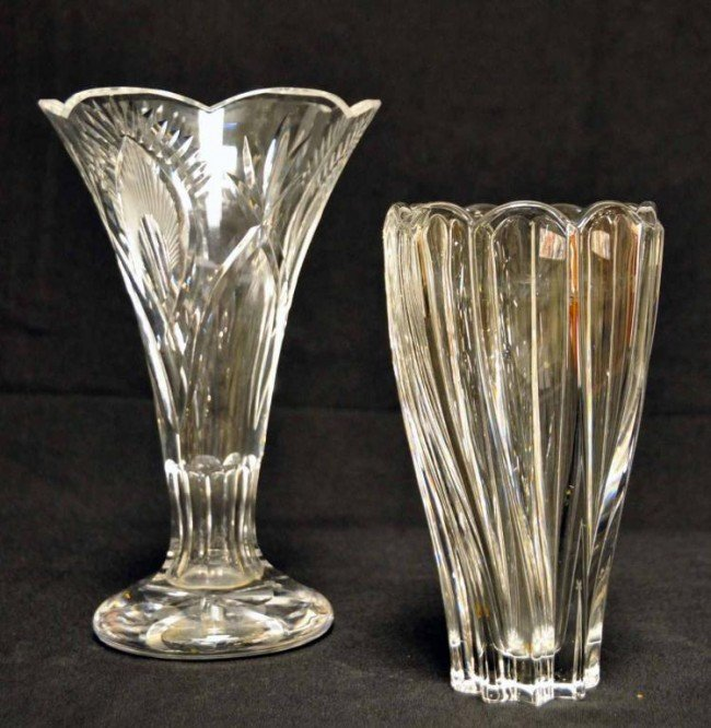 5: Two Waterford Crystal Vases