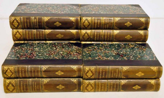 9: 12 Finely Bound Volumes of Hawthorne's Works
