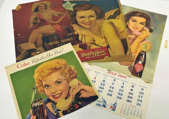 18: Dr Pepper, Coca-Cola, Royal Crown Glamour Girl Ad