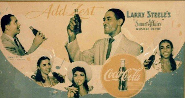 19: Rare c. 1950 Coca-Cola Advertising Poster
