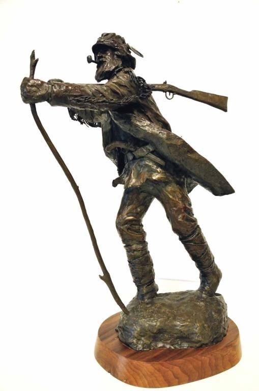177: Joe Neil Beeler (American, 1931-2006) Bronze
