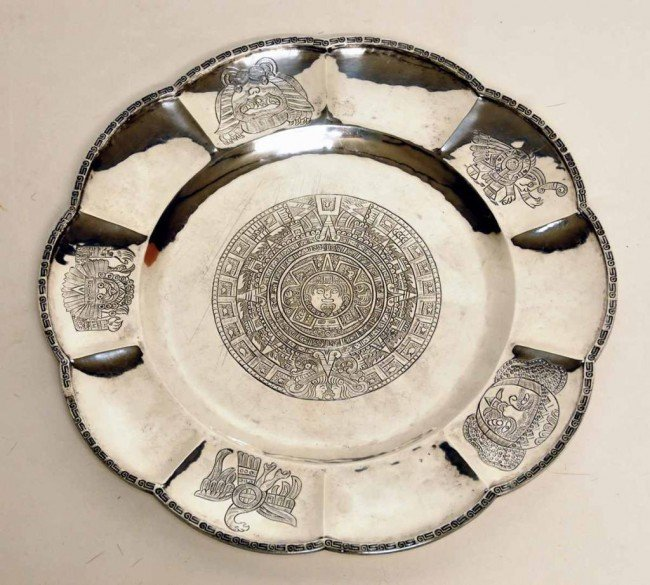 358: Mexican Sterling Silver Plate