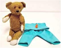 406: Vintage Golden Mohair Teddy Bear, Probably Steiff