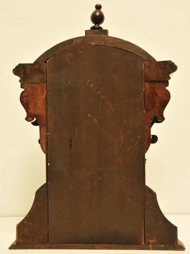 387A: E. N. Welch Mahogany Parlor Mantle Clock - 6