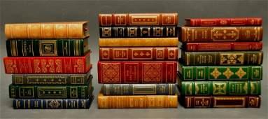 296: 20 Ltd. Ed. Franklin Library Leather Books