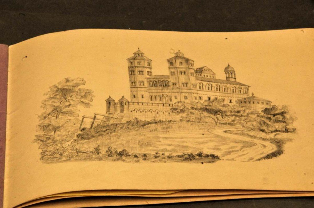 10: 19th Century Fine German Artist's Sketchbook