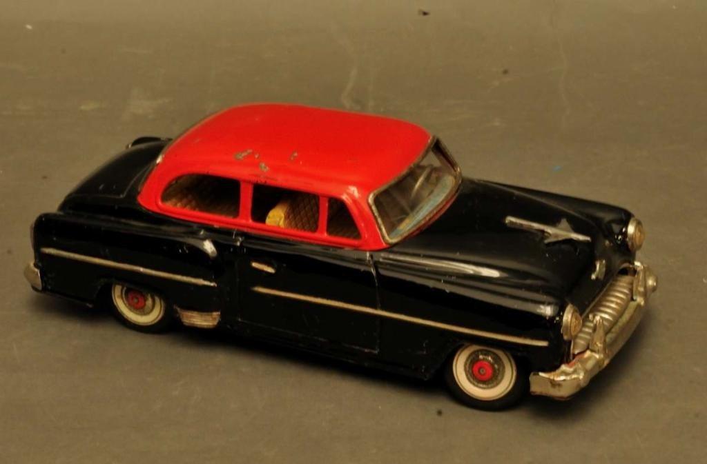 20: 1950s Opel Tin Car by Yonezawa, Japan