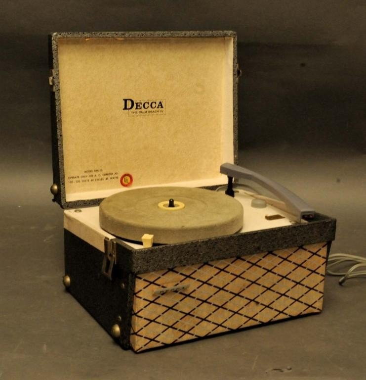 126: Decca Model DPS-13 Portable Turntable
