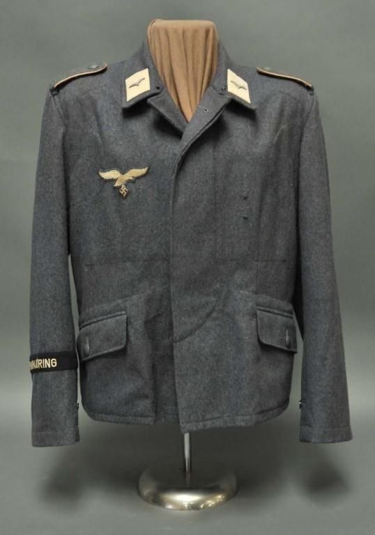 83: WWII Nazi Hermann Goring Division Flieger Tunic