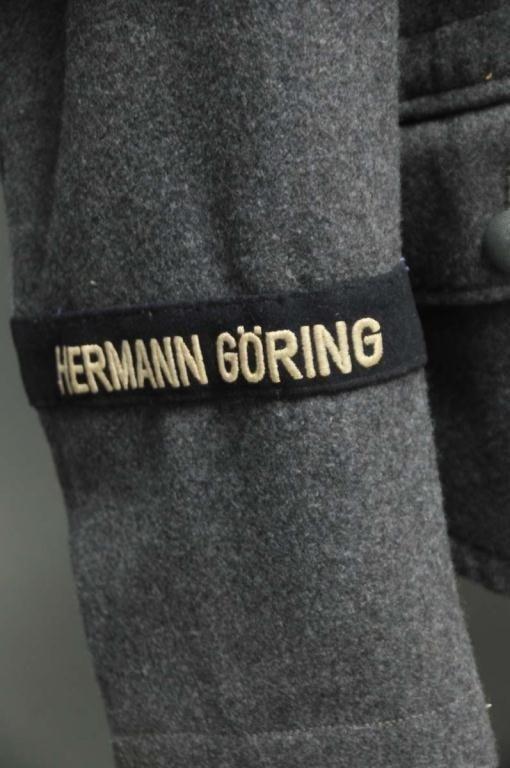 83: WWII Nazi Hermann Goring Division Flieger Tunic - 3