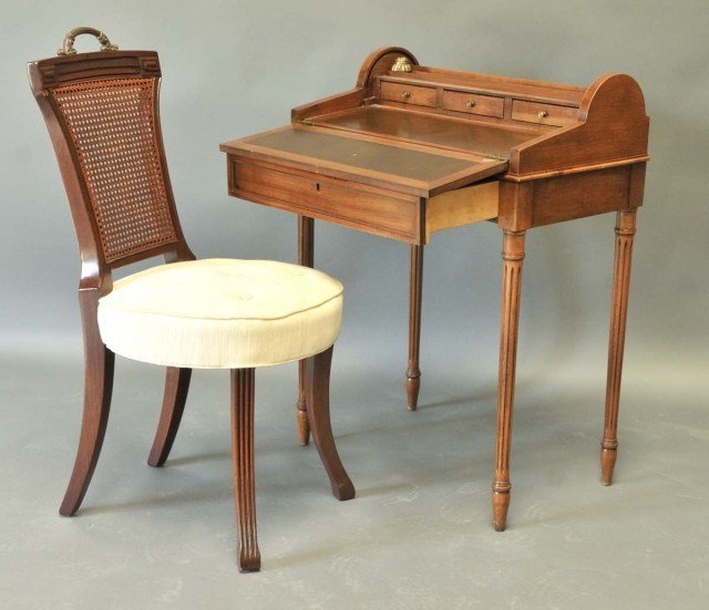 8: Petite Writing Desk and Chair