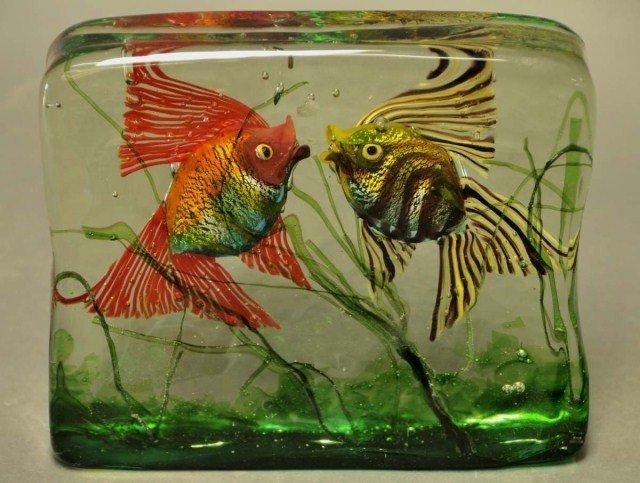 22: Venetian Glass Aquarium