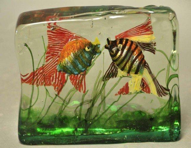23: Venetian Glass Aquarium