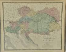 303: Seven W. & A. K. Johnston 19th Century Maps