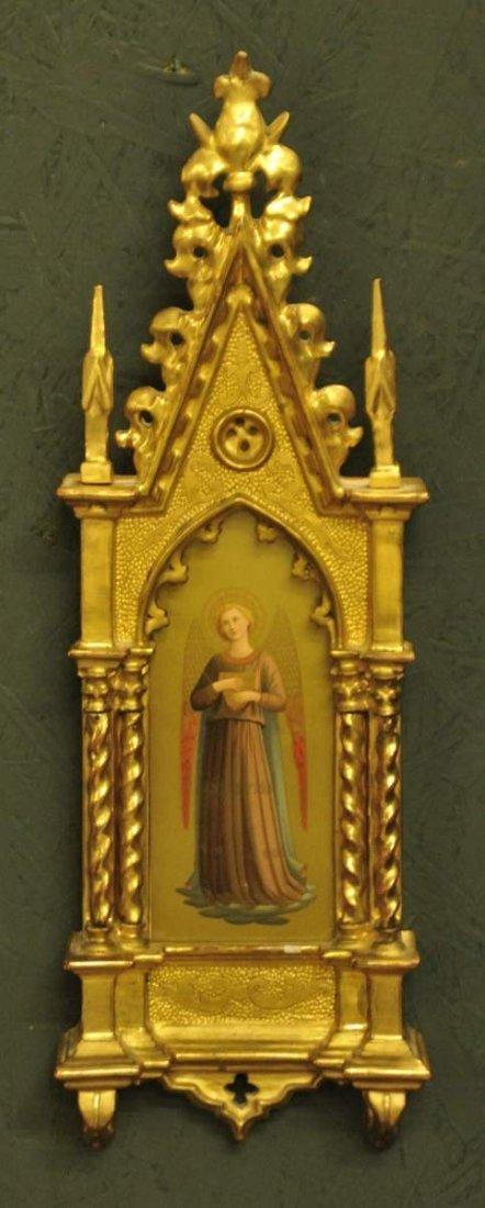 8: Framed 19th Century Italian Icon