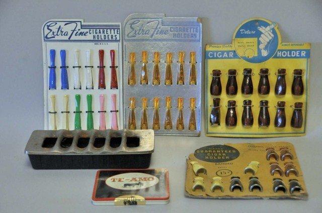 18: Vintage Cigar Holders, Ashtray, Etc.