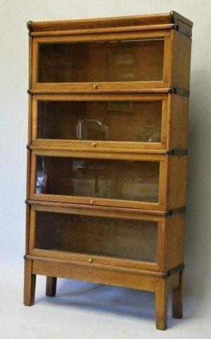19: Globe Wernicke 4-Stack Barrister Bookcase