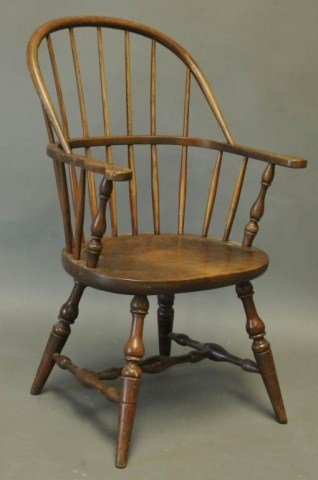20: Stickley Windsor Sack-Back Armchair