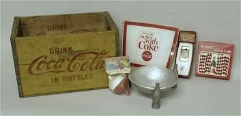 70: Lot of Six Coca-Cola Items
