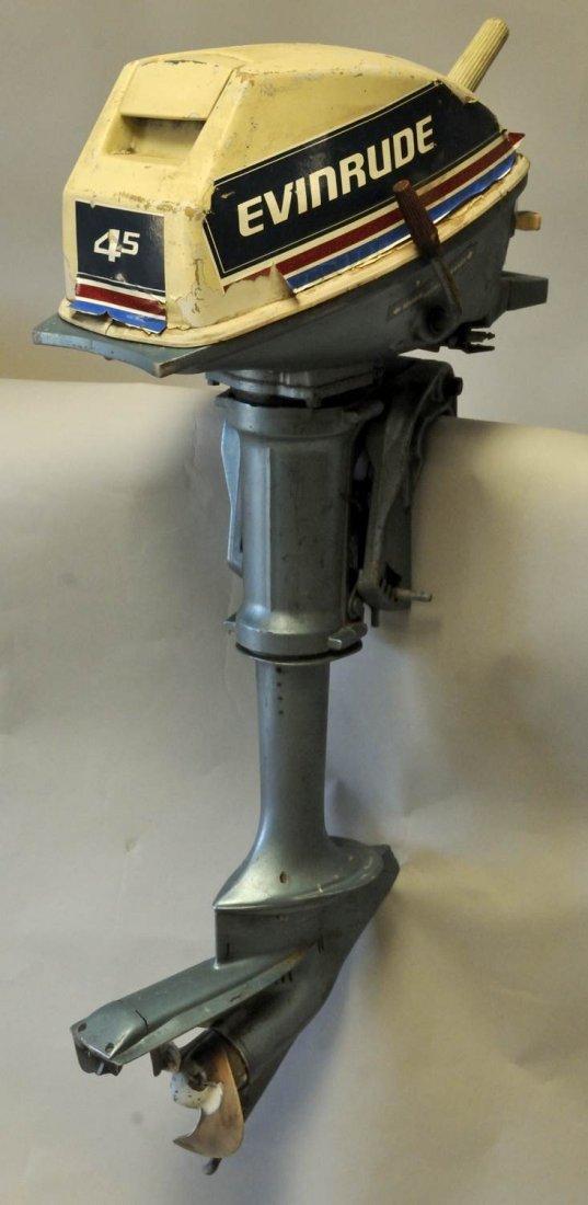 81: Evinrude 4.5 Outboard Motor