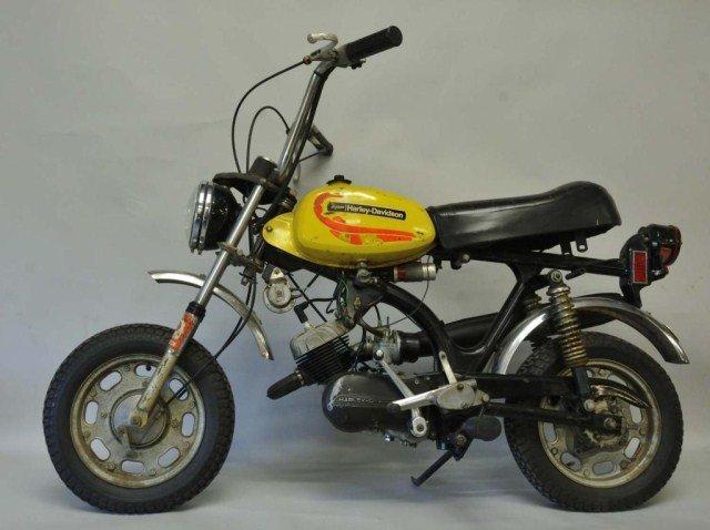 203: 1972 Harley-Davidson Shortster Mini-Cycle