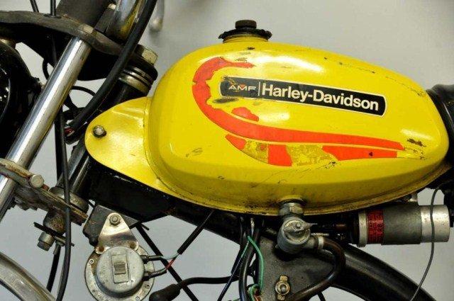 203: 1972 Harley-Davidson Shortster Mini-Cycle - 2