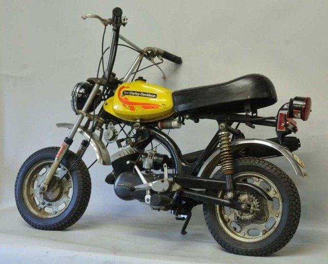 203: 1972 Harley-Davidson Shortster Mini-Cycle - 3