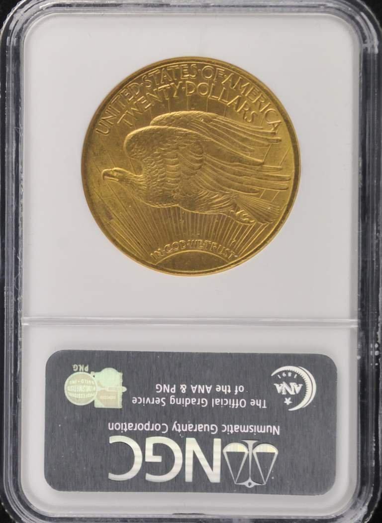 526: 1915  $20 Saint Gaudens Coin - 2