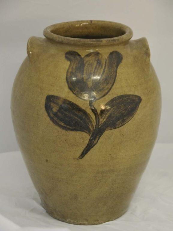 Rare Edgefield Phoenix Factory Stoneware Jar