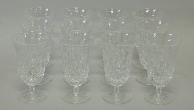 12 Waterford Lismore Iced Tea Glasses