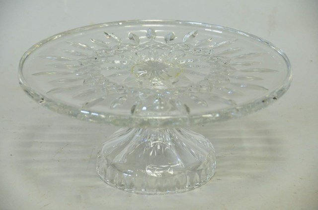 Waterford Crystal Pedestal Cake Plate