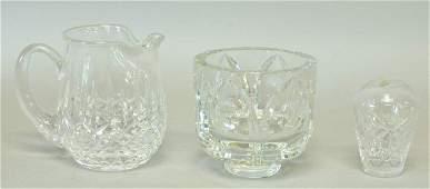 Tiffany Waterford  Orrefors Cut Crystal
