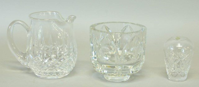 Tiffany, Waterford & Orrefors Cut Crystal