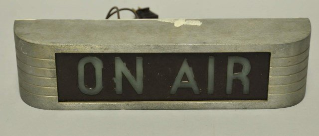 "Vintage RCA ""On Air"" Light"