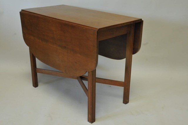 Cherry Drop-Leaf Breakfast Table
