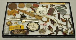 Lot of Advertising and Miniatures