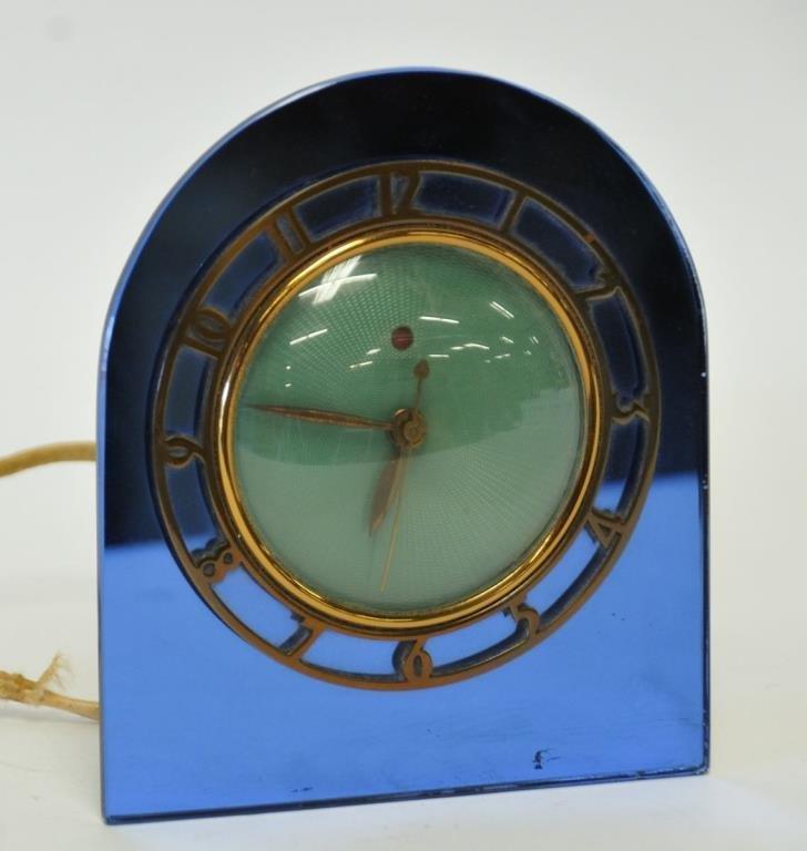 Warren Telechron Co. Art Deco Clock