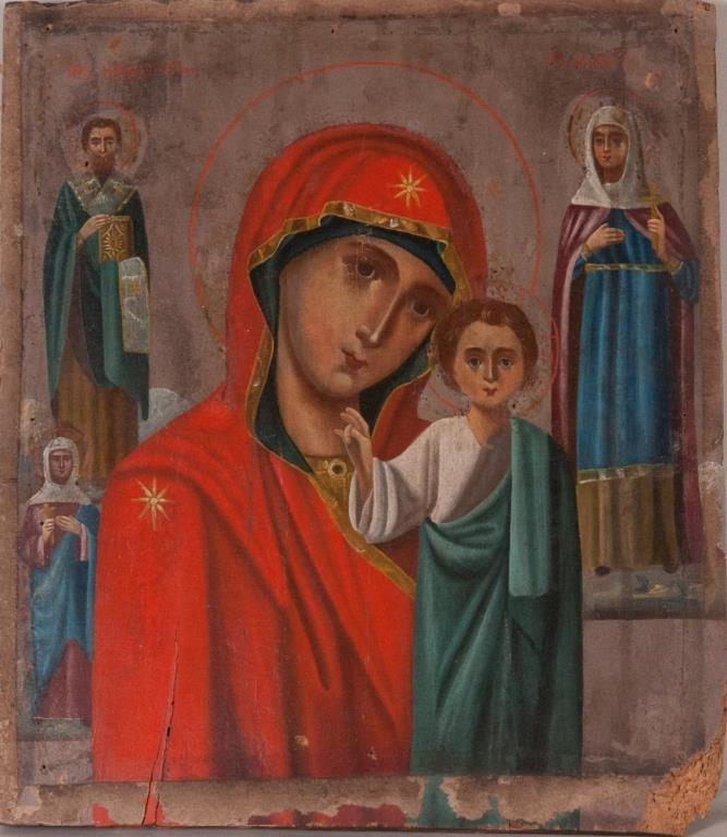 Russian Icon, Smolenskaya Mother of God