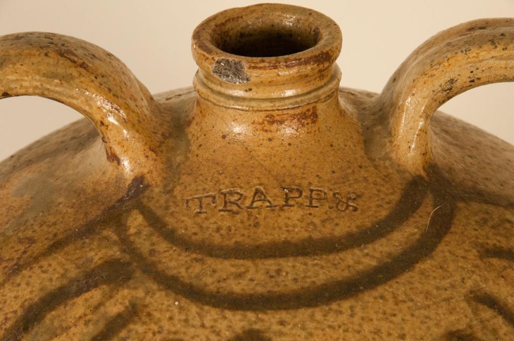 Rare Signed Trapp & Chandler Edgefield Jug - 4