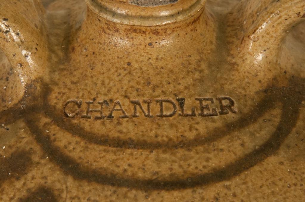 Rare Signed Trapp & Chandler Edgefield Jug - 5