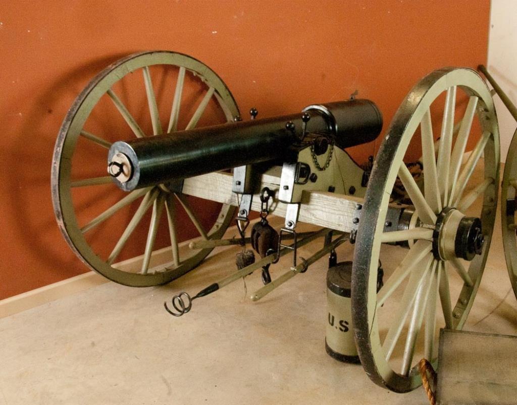 Civil War Parrott Gun Reproduction