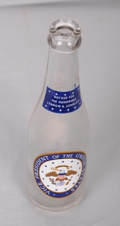 Historical Lyndon B. Johnson Canada Dry Bottle Canada - 2