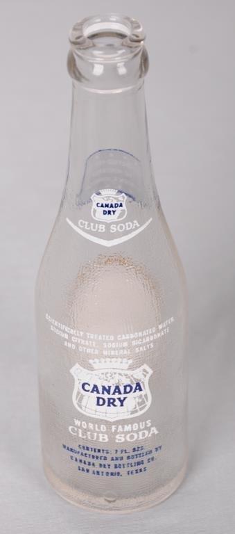 Historical Lyndon B. Johnson Canada Dry Bottle Canada - 3