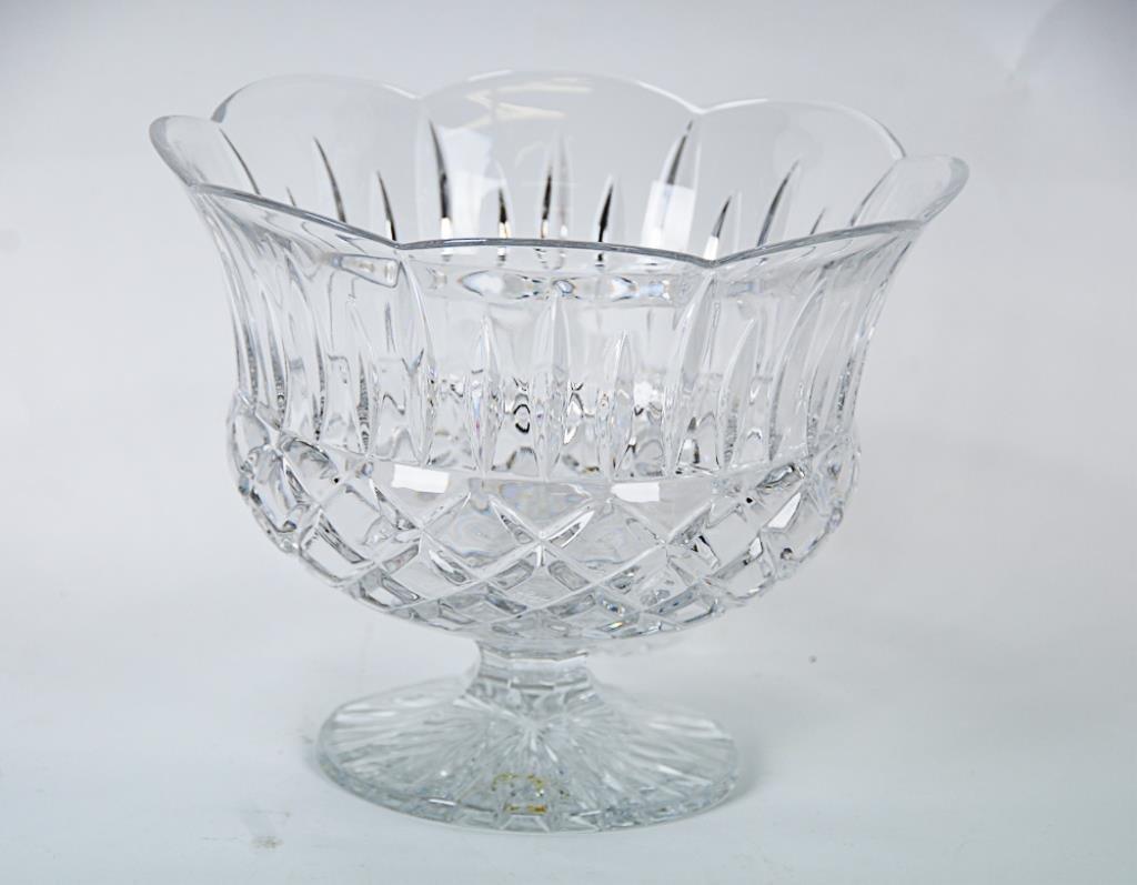 Gorham King Edward Punch Bowl & Cups Lead crystal - 2